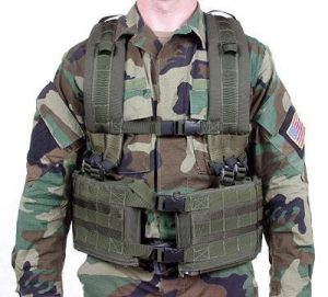 MOLLE system (front view)